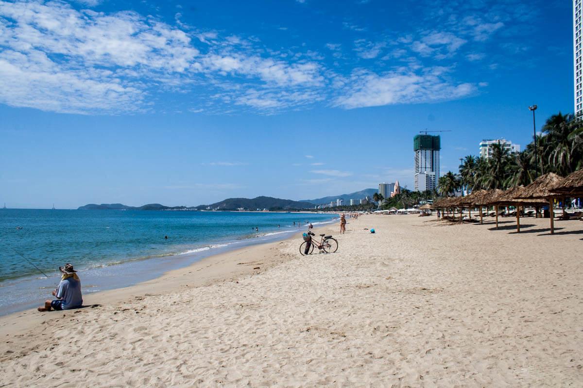 пляж нячанга фото туристов основном проживают открытой